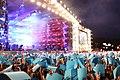 2016 Woodstock 040 Główna Scena - Zamachy w Paryżu.jpg
