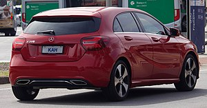 2017 Mercedes-Benz A 200 (W 176) hatchback (2018-08-31) 02.jpg