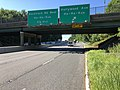 2018-07-19 08 49 35 View south along New Jersey State Route 17 at the exit for Hollywood Avenue (Ho-Ho-Kus) in Ho-Ho-Kus, Bergen County, New Jersey.jpg