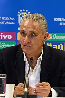 Tite (football manager) Brazilian football manager and former player