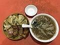 201912 Pan-fried dumplings and Fujian Geng in Jinhua.jpg