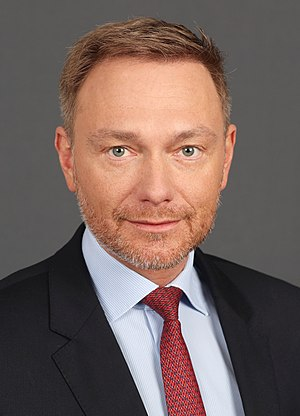 Christian Lindner (Bundestag project 2020) by Sandro Halank