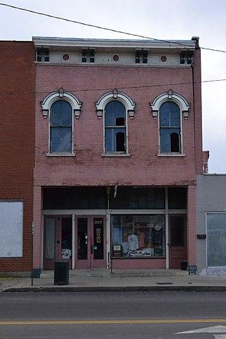 Building at 217 West Main Street - Image: 217 West Main, Sedalia, MO