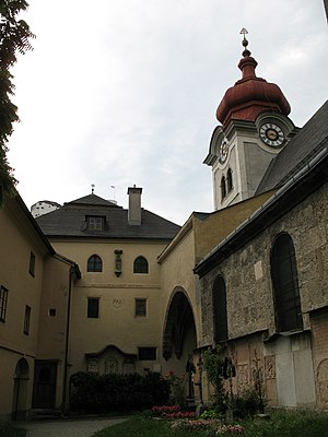 Nonnberg Abbey - Abbey Church