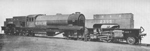 LNER Class U1 - No. 2395, in photographic grey, in 1925