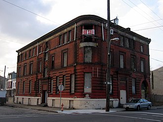 National Register of Historic Places listings in Northeast Philadelphia - Image: 26th District Police and Patrol Station