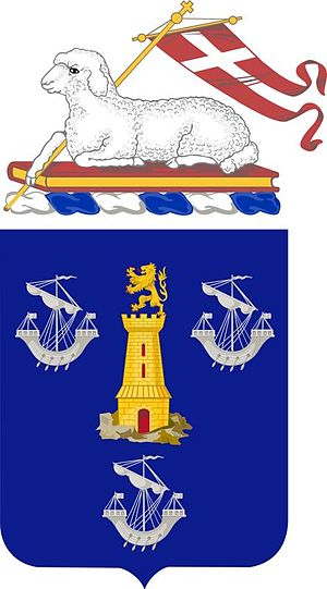 295th Infantry Regiment - Coat of arms