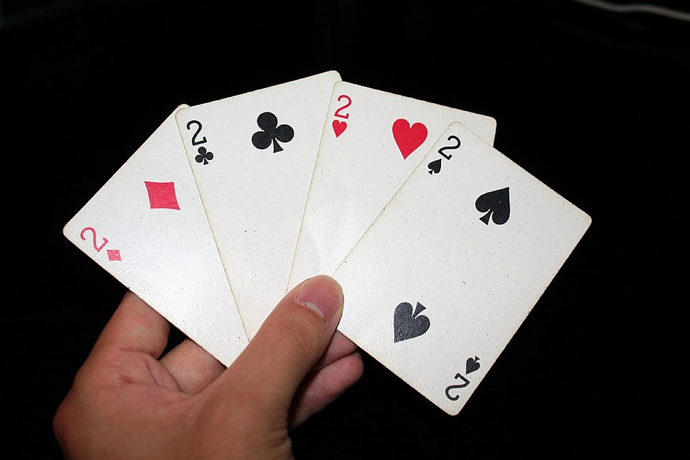 2 playing cards