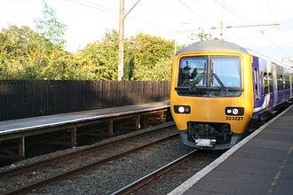 Glossop line - Train at Godley