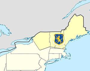 32d Air Division - 32d Air Division AOR 1952-1958
