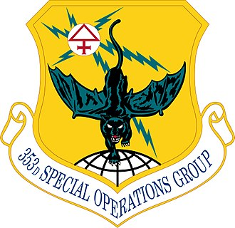 353d Special Operations Group - Emblem of the 353d Special Operations Group