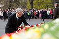 4.maija svinīgā ziedu nolikšana pie Brīvības pieminekļa (5686759551).jpg