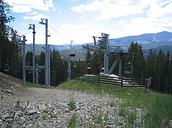 definition of chairlift