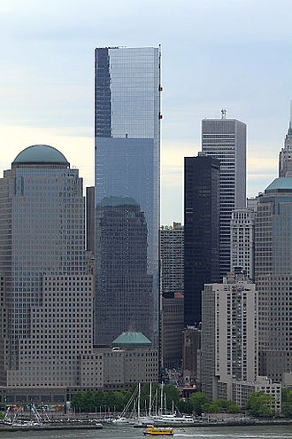 Financial District, Manhattan - Image: 4 WTC May 17 2013