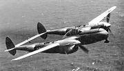 4th Reconnaissance Squadron F-5 Lightning 1945