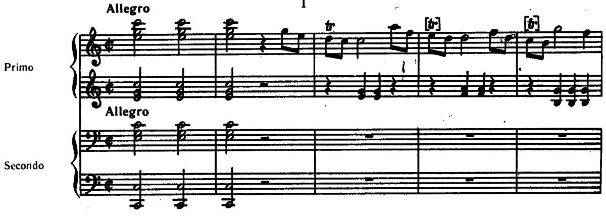 Sonata In C Major For Keyboard Four Hands K 19d Wikipedia