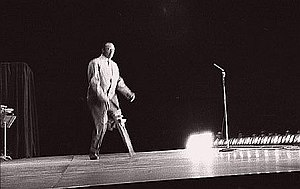 Peg Leg Bates - Peg Leg Bates, performing at the Muscular Dystrophy Marathon, December, 1954, Denver, Colorado Colosseum