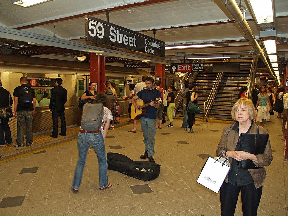 59th Street–Columbus Circle (New York City Subway) by David Shankbone