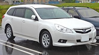 Subaru Legacy (fifth generation) - 2010 Subaru Legacy 2.5i-L Touring Wagon (Japan)