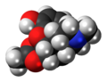 6-Monoacetylmorphine molecule spacefill.png