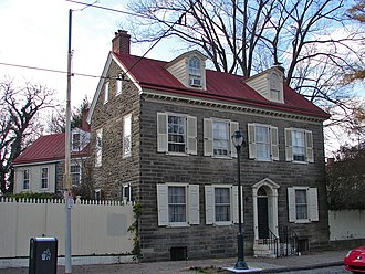Mount Airy, Philadelphia - Daniel Billmeyer House on Germantown Avenue.