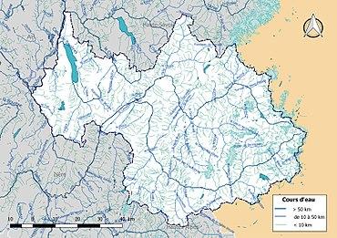 Liste des cours d'eau de la Savoie — Wikipédia
