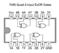 7486 quad 2 input exor gates png wikipedia for Porte and or xor