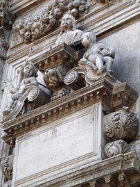 8209 - Venezia - Heinrich Meyring, Cenotafio di Girolamo Fini (+1685) - San Moisè - Foto Giovanni Dall'Orto, 12-Aug-2007.jpg