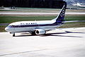 90aw - Olympic Airways Boeing 737-33R; SX-BLA@ZRH;21.03.2000 (5016176257).jpg
