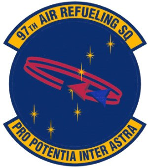 97th Air Mobility Wing - Emblem of the 97th Air Refueling Squadron