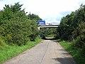 A69 overbridge over Milkwell Lane - geograph.org.uk - 923043.jpg