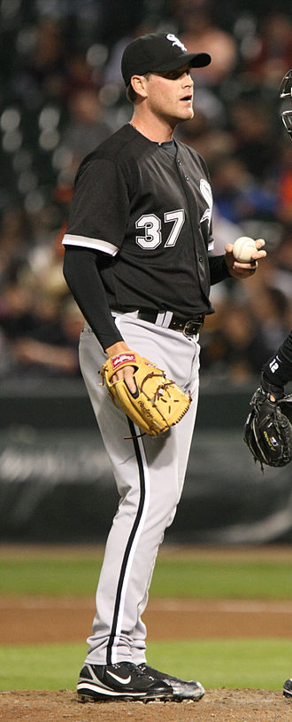 Matt Thornton (baseball) - Thornton with the Chicago White Sox in 2008