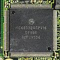 AEG Mobile Communication E-Plus PT-10 - mainboard - Motorola MC68332ACPV16-5501.jpg