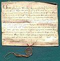 AGAD Grzegorz IX bierze w opiekę dobra klasztoru cystersów w Sulejowie.jpg