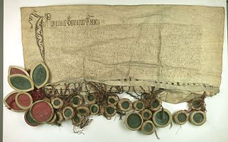 Königsberg - Prussian Confederation offered to incorporate Prussia into the Crown of the Kingdom of Poland, 1454, Central Archives of Historical Records, Warsaw