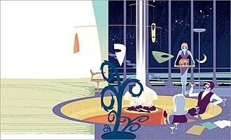 Rian Hughes - Example of Rian Hughes' illustration