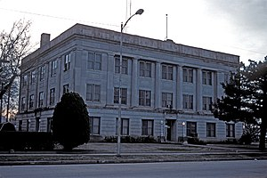 National Register of Historic Places listings in Alfalfa County, Oklahoma - Image: ALFALFA COUNTY COURTHOUSE