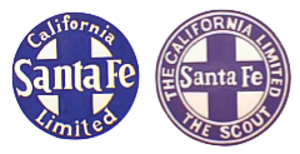 California Limited - Image: ATSF California Limited combined
