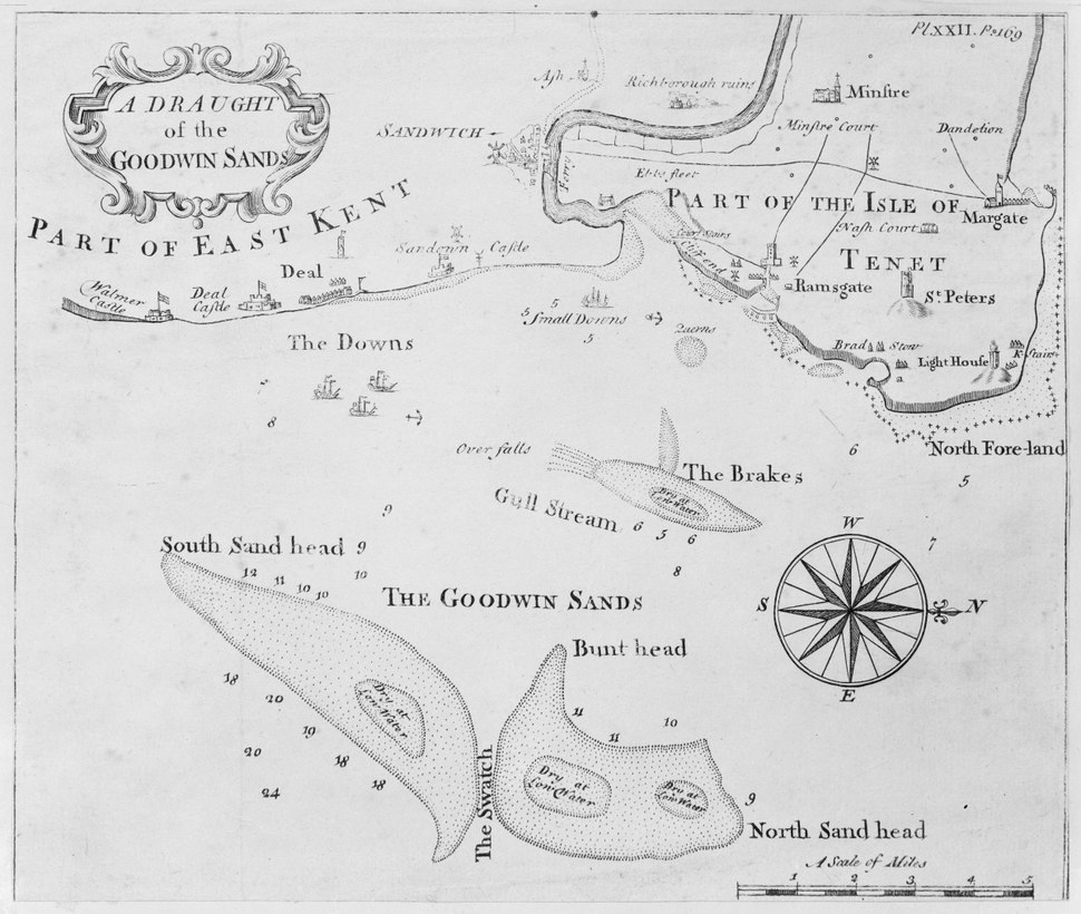 A draught of the Goodwin Sands Pl.XXII P169 RMG A8031-D.tiff