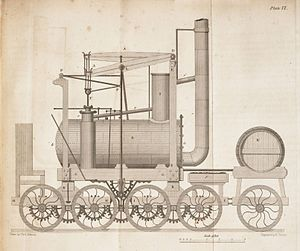Puffing Billy (locomotive) - Eight-coupled form