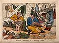 A stereotypical satire of the Scottish. Coloured etching by Wellcome V0011324.jpg
