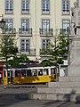 A tram (Praça Luís de Camões - Lisbon) - Apr 2007.jpg