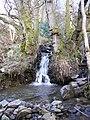 A waterfall on the Blakehope Burn - geograph.org.uk - 774859.jpg