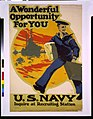 A wonderful opportunity for you, U.S. Navy, inquire at recruiting station - Ruttan. LCCN92510137.jpg