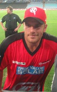 Aaron Finch Australian Cricketer