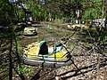 Abandoned Dodgem Cars at Fairground - Pripyat Ghost Town - Chernobyl Exclusion Zone - Northern Ukraine (26494712463).jpg