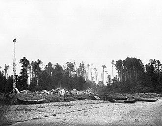Langara Island - Dadens, Langara Island, 1878