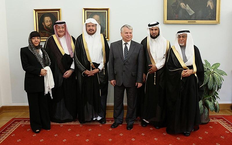 Abdullah ibn Muhammad Al ash-Sheikh Senate of Poland 02.JPG
