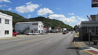 Aberdeen, Ohio - Looking east on U.S. Highway 52 in Aberdeen
