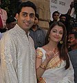 Abhishek and Aishwarya in Bengal.jpg